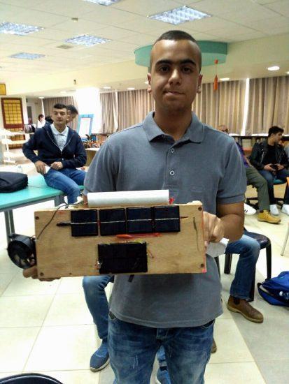 תיכון עין ג'ראר מציג את הפרויקט