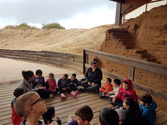 סיור בין העתיקות בפארק אשקלון