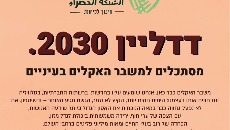 דדליין 2030